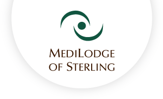 Medilodge of sterling web logo
